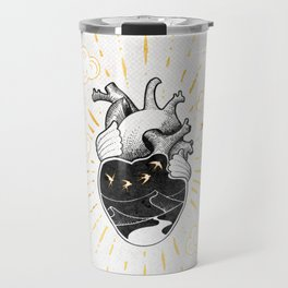 Desert Heart Inktober :: More Magick Travel Mug