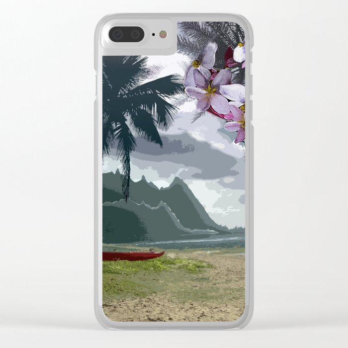 The Storm is Passing Clear iPhone Case