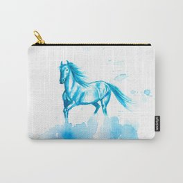 Horse Abstract Carry-All Pouch