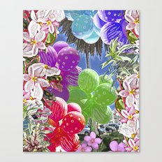 BALLOON LOVE:  Tropical Pop Canvas Print