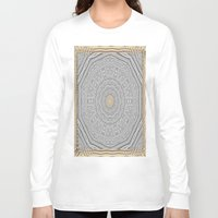 wooden Long Sleeve T-shirts featuring Wooden Popart by Pepita Selles