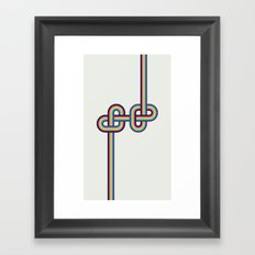 Twists and Knots #2 Framed Art Print