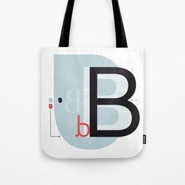 B b Tote Bag