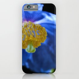 Blue Himalayan iPhone Case
