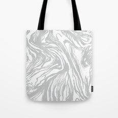Marbled Gray Tote Bag