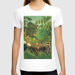 """Henri Rousseau """"Exotic landscape"""", 1910 T-shirt"""