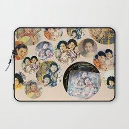 Beijing 6576 Asian vintage atmosphere with women Laptop Sleeve