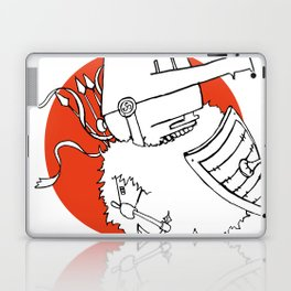 Hack It - Warrior Illustration Laptop & iPad Skin