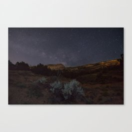 National Monument Stars Canvas Print