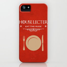House Lecter iPhone Case