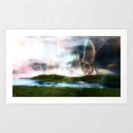 Corona Lake Art Print