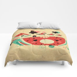 Watermelon Playground Comforters