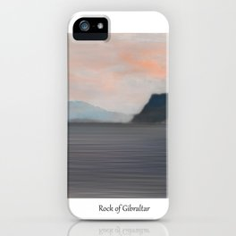 Rock of Gibraltar 2 iPhone Case