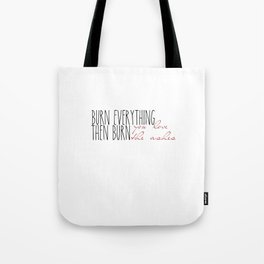 My Song Knows What You Did In The Dark Tote Bag