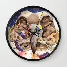 BirdSkull Wall Clock