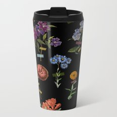 Vertical Garden IV Metal Travel Mug
