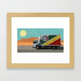 Regalo Helado - The Drug Truck - Better Call Saul Framed Art Print