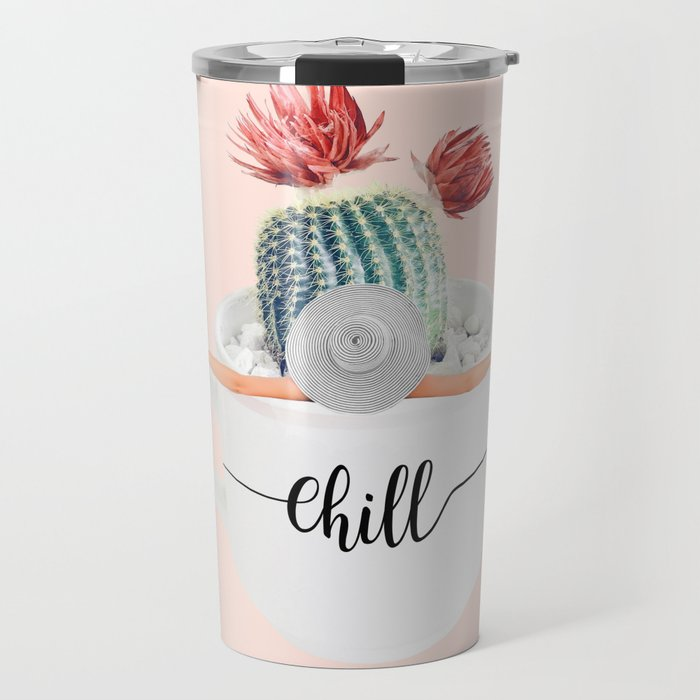 Cactus pool Travel Mug