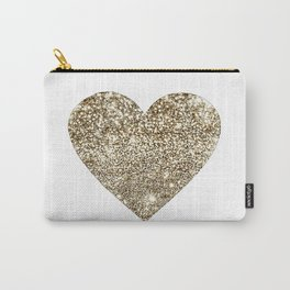 GOLD Heart-8 Carry-All Pouch