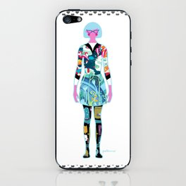 Self Portrait iPhone Skin
