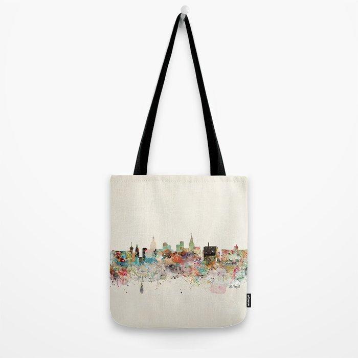 las vegas skyline Tote Bag
