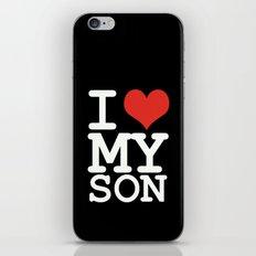 I love my son iPhone & iPod Skin