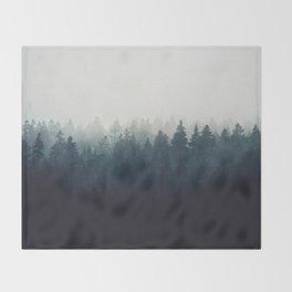 A Wilderness Somewhere Throw Blanket