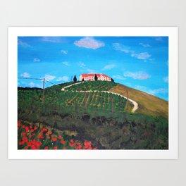 Italian Memories 3 Art Print