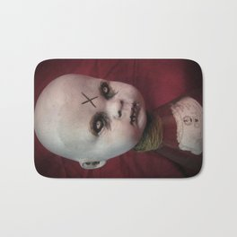 Creepy Gothic Zombie Baby Doll  Bath Mat