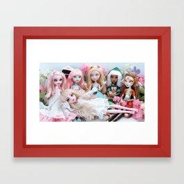 Group Photo Framed Art Print