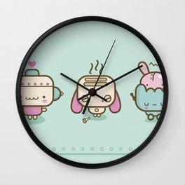 ♥ r o b o t s ♥ Wall Clock