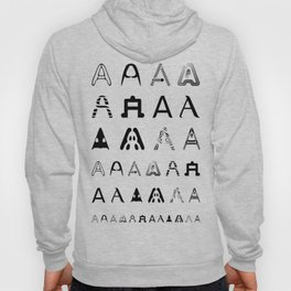 A is the first letter Hoody