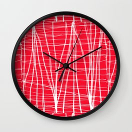 Lineweights Wall Clock