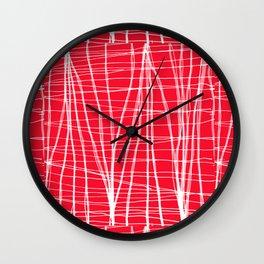 Lineweights Wall Clock