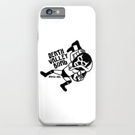 Death valley bomb iPhone Case