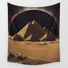sand eclipse Wall Tapestry