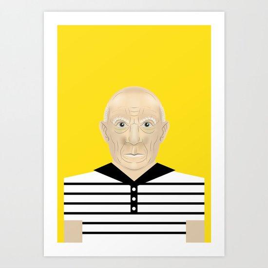 Pablo Picasso Art Print