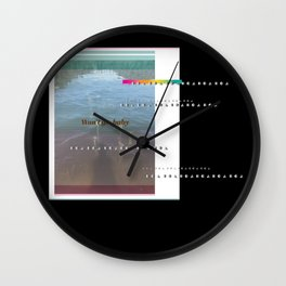 Won't go, baby Wall Clock