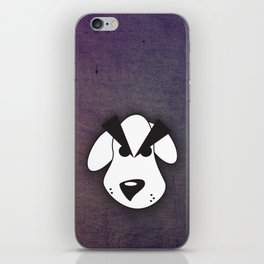 Peeved Pup iPhone Skin