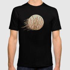 vegetal motif Mens Fitted Tee Black MEDIUM