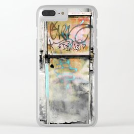 One Door at Plaka-Athens Clear iPhone Case