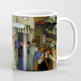 Coit Tower San Francisco City Scene Mural Coffee Mug