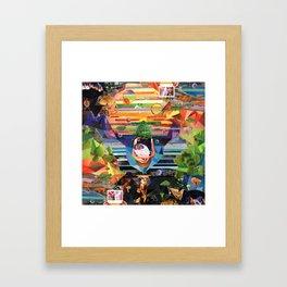 MAE.SUN Album Cover Framed Art Print
