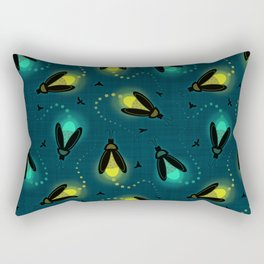 Firefly Evening Rectangular Pillow