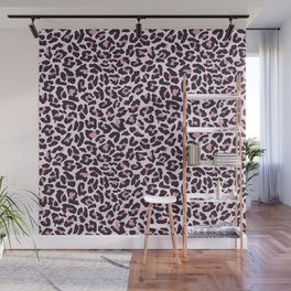 Pastel leopard fur texture Wall Mural