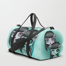 Zombie Doll The Dark Side Duffle Bag
