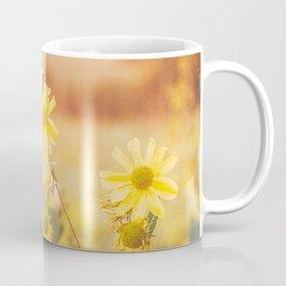 Yellow Flowers at Sunset Coffee Mug
