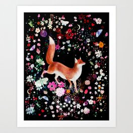 foxwood Art Print