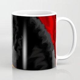 Halloween Cat Painting Coffee Mug