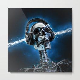 Soul music Metal Print